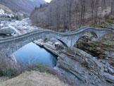 Via Normale Pizzo di Corbella - Il famoso Ponte dei Salti a Lavertezzo