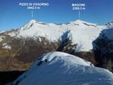 Via Normale Cima di Sassello - versante SE - Panorama di vetta, verso N