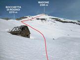 Via Normale Madone (di Vogorno) - L'immacolata Costera (q. 1917 m), e il Madone