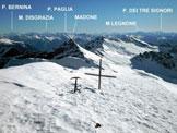 Via Normale Pizzo di Vogorno - dal versante SE e per la cresta SSE - Il panorama verso E, dalla vetta