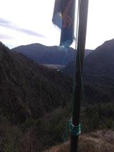 Via Normale Monte Cretò - Panorama dal pulpito lungo il percorso