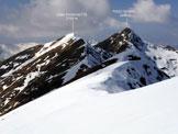 Via Normale Monte Tabor - Cima Pianchette - Lungo l'itinerario di cresta
