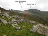 Via Normale Cima di Gagnone - Le baite di Corte Nuovo (q. 1873 m) e l'itinerario di salita