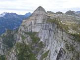 Via Normale Poncione d'Alnasca - Dalla Val d'Agro - Il Poncione d'Alnasca ripreso da SSE, dalla vetta della Föpia