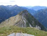 Via Normale Poncione d'Alnasca - Dalla Val d'Agro - Panorama di vetta, sulla Föpia e la sua cresta