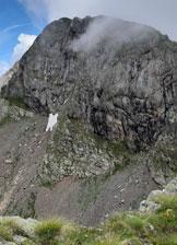 Via Normale Monte Pes Gerna - Il vicino Monte Masoni visto dal Pes Gerna