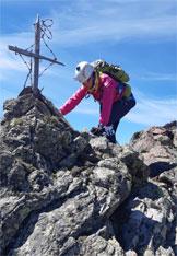 Via Normale Albiolino e Torrione d´Albiolo (S.A. degli Alpini) - Vetta Albiolino