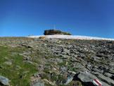 Via Normale Pizzo Barone - Il plateau sommitale e il cocuzzolo di vetta