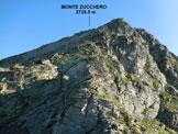 Via Normale Monte Zucchero - da Est - Sulla facile cresta SSE