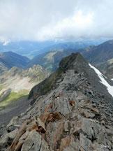 Via Normale Schwarz Wand - Croda Nera - Particolare in cresta