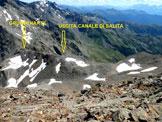 Via Normale Grosse Windschar - Cima del Vento - Vista verso valle