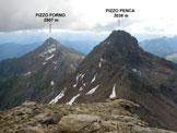 Via Normale Pizzo Tenca - Panorama di vetta, verso E