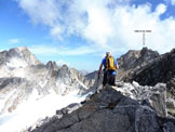 Via Normale Cima di Val Bona - Traversando sul versante svizzero