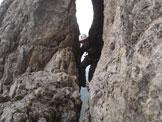 Via Normale Quinta Torre Occidentale del Tricorno - via Martin Mietto -
