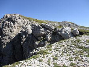Via Normale Creta di Pricot