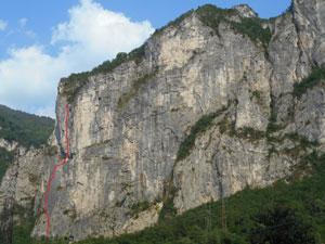 Via Normale Col Molton - via Zonta Gnoato Bertan