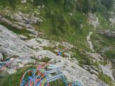 Via Normale Col Molton - via Zonta Gnoato Bertan - Grande diedro