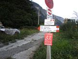 Via Normale Monte Corona in Friuli - Inizio del sentiero 521