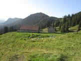 Via Normale Monte Corona in Friuli - Casera For