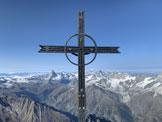 Via Normale Taschhorn - La croce di vetta