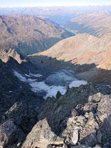 Via Normale Weisseespitze - Cresta Ovest - la via di salita dal Valginferner