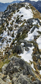 Via Normale Pizzo della Scala (da San Simone) - Cresta