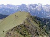 Via Normale Col Bel - La cresta di salita