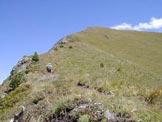 Via Normale Col Bel - Ultimo tratto verso la cima