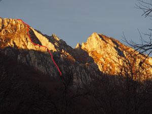 Via Normale Monte Moregallo (Cresta 50° CAI)