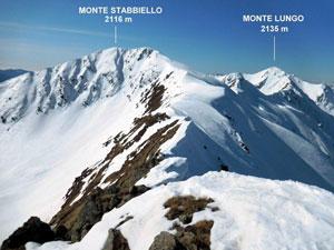 Via Normale Monte Stabbiello - Mottone della Tappa