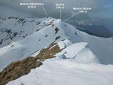 Via Normale Monte Garzirola - Monte Lungo - Immagine ripresa dalla vetta del Monte Lungo