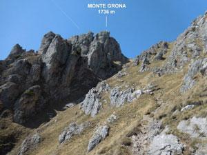Via Normale Monte Grona - (via direttissima)