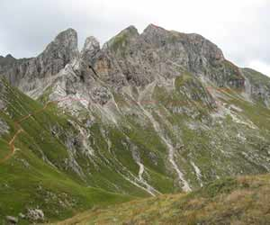 Via Normale Monte Cernera