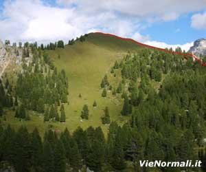 Via Normale Monte Pecol