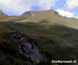 Via Normale Monte Laste