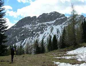 Via Normale Monte Ferrara