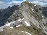 Via Normale Monte Ferrara - La cima dall'anticima