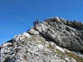 Via Normale Punta del Mus - Discesa dalla cresta finale