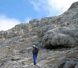 Via Normale Monte Volaia