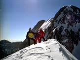 Via Normale Cima Val Piccola - Sulla cima