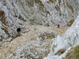 Via Normale Cimon della Bagozza - Presso il P.so dell�Ortica