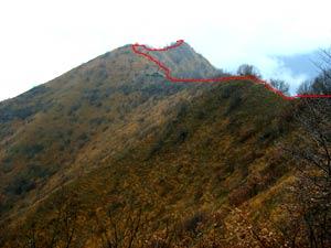 Via Normale Monte Pergua