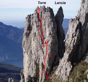 Via Normale Torre