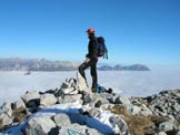 Via Normale Monte Paster - Sulla cima