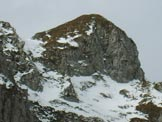 Via Normale Cima Làser - La seconda rampa verso la cresta