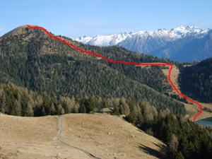 Via Normale Monte Mignone