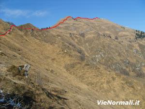 Via Normale Monte Stalletti