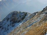Via Normale Monte Stalletti - Ultimo tratto di cresta