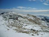 Via Normale Monte Stalletti - Vista scendendo dal M. Guglielmo