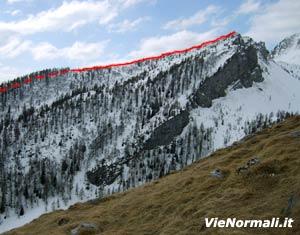 Via Normale Monte Arano